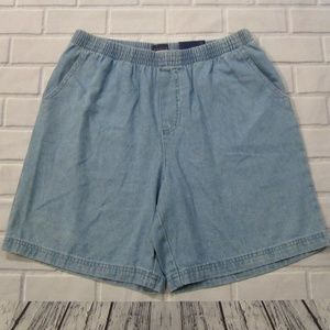 99b2c341e205 NEW Women Size S Basic Editions Pull On Jean Short
